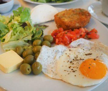 Frühstück im mani in Wien