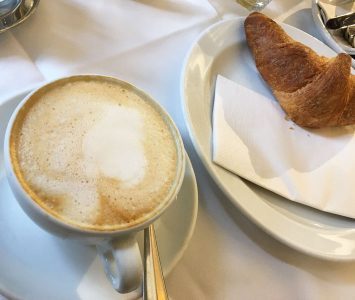Frühstück im Purberg in Graz