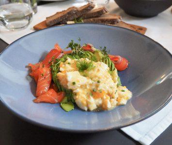 Frühstück in Anton's Tafel in Wien