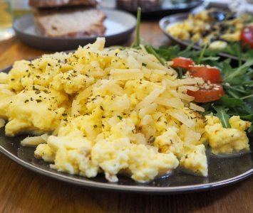 Frühstück im Biodeli in Wien