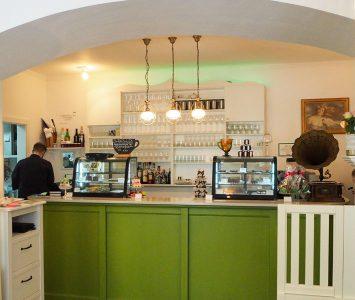 Frühstück im Café Grüner Salon in Wien