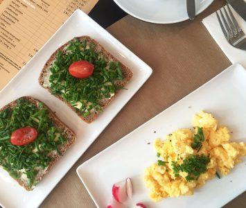 Frühstück im Gapsite Hotel in Graz