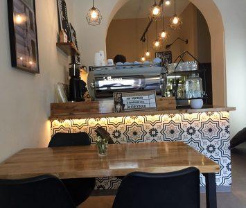 Frühstück im Das Kafa in Wien