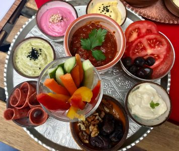 Frühstück im Café Schadzi in Linz