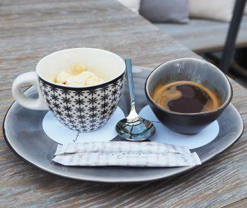 Frühstück im Das Glashaus in Wien