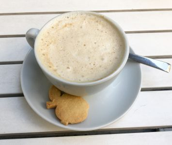 Frühstück im Lafafi in Wien