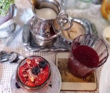 Frühstück im Wohnzimmercafe Emma in Munderfing