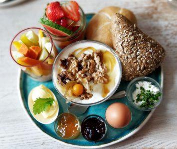 Frühstück in der Kaffeesiederei Immervoll in Bad Ischl