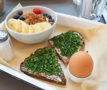 Frühstück im Brass Monkey Laendyard in Wien