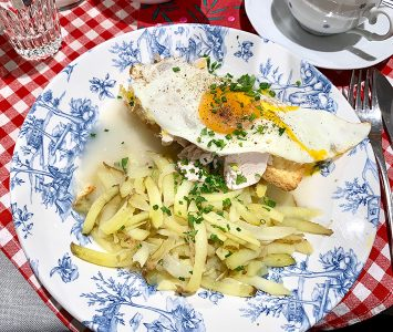 Brunch in Trisha's Eatery in Linz