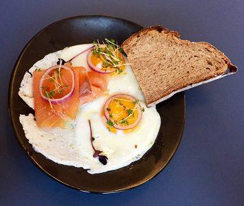 Frühstück im Plain in Wien