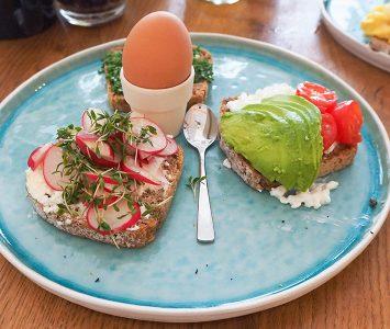 Frühstück im Die Burgermacher in Wien