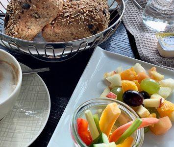Frühstück im Cubus in Linz
