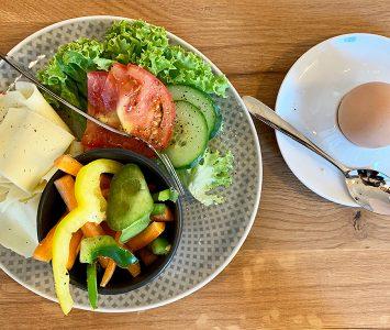 Frühstück beim Danecker in Linz