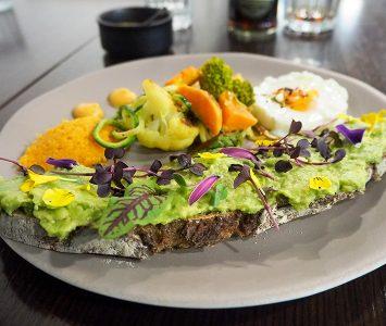 Frühstück in der Soul Kitchen in Wien