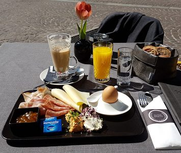 Frühstück im Kaiser Max in Innsbruck