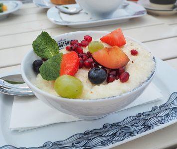 Frühstück im Landtmann Bootshaus in Wien