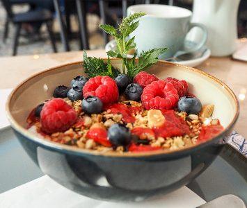 Frühstück in der Alma Gastrothèque in Wien