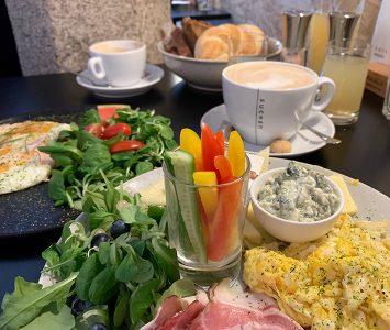Frühstück im Suchan Café in Freistadt