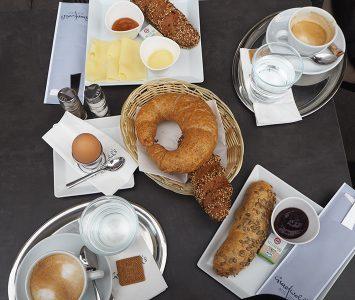 Frühstück im Gradwohl's Auszeit in Wien