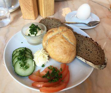Frühstück im Gustav Emil Paula Paula in Wien