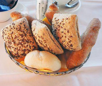 Frühstück in der Seegrube in Innsbruck