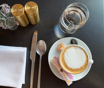Frühstück im Kai 36 in Graz