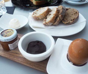 Frühstück im Sky Café Wien