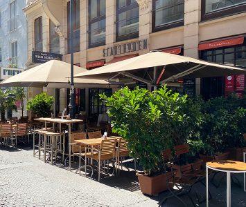Frühstück im Stadtboden in Wien