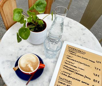 Frühstück im ihana in Wien