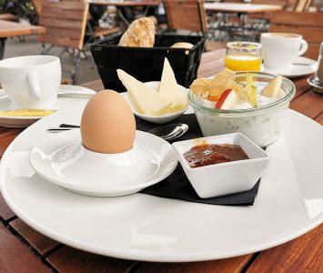 Frühstück im Jussi in Wien