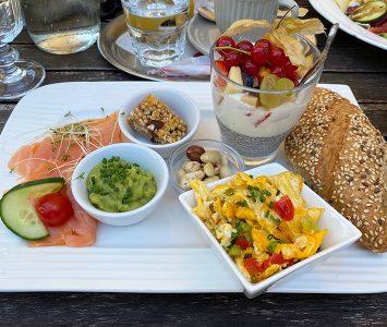 Frühstück im Lille Hus in Teesdorf