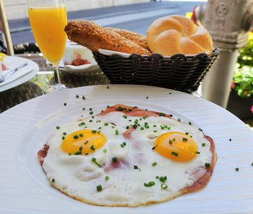 Frühstück in der Mühle in Perchtoldsdorf