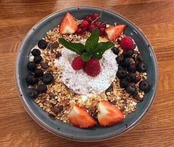 Frühstück im Das Vivet in Wien