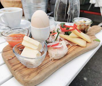 Frühstück im Heu & Gabel in Wien