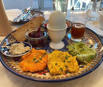 Frühstück im Wilder Osten in Wien