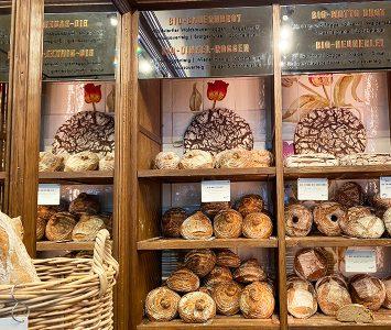 Frühstück im Motto Brot in Wien