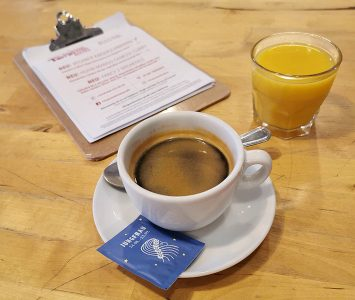 Frühstück im 15 süße Minuten in Wien