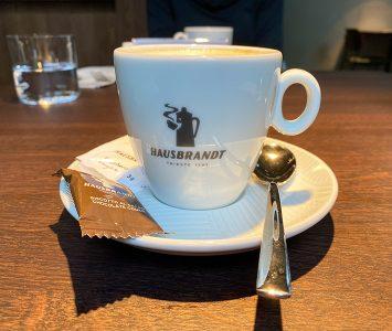 Frühstück in der Sattlerei in Wien