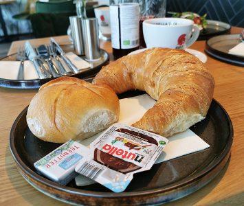 Frühstück im Café Friedl in Wien