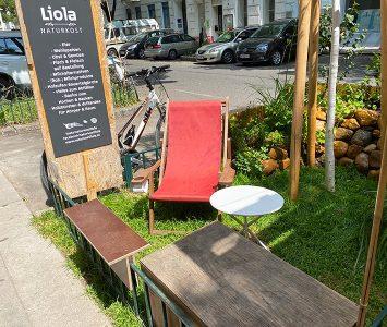 Frühstück im Naturkost Liola in Wien
