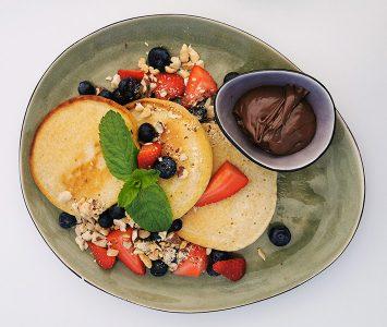 Frühstück im Brunchhouse am Irissee in Wien