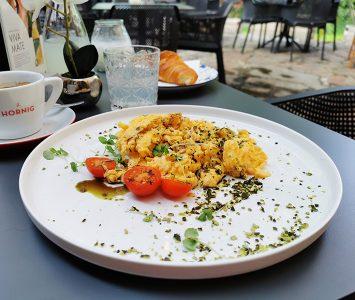Frühstück im La Grande Dame in Wien