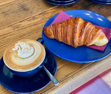 Frühstück bei Punky's Whips in Wien