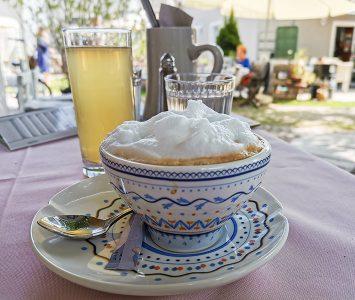 Frühstück im Ladencafé Pomale in Felixdorf